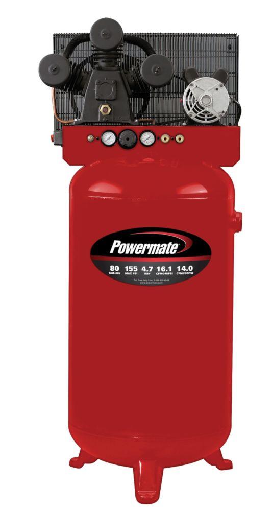 Compresseur dair électrique � 302,8 litres