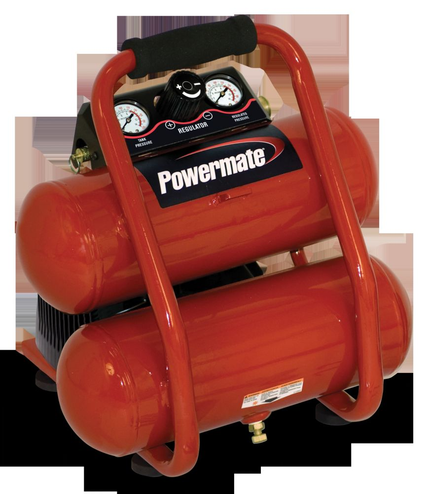 2 Gallon Side Stack Air Compressor Combo Kit