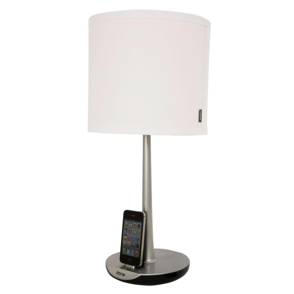 iHome 1 Light Charging Lamp Wingstack