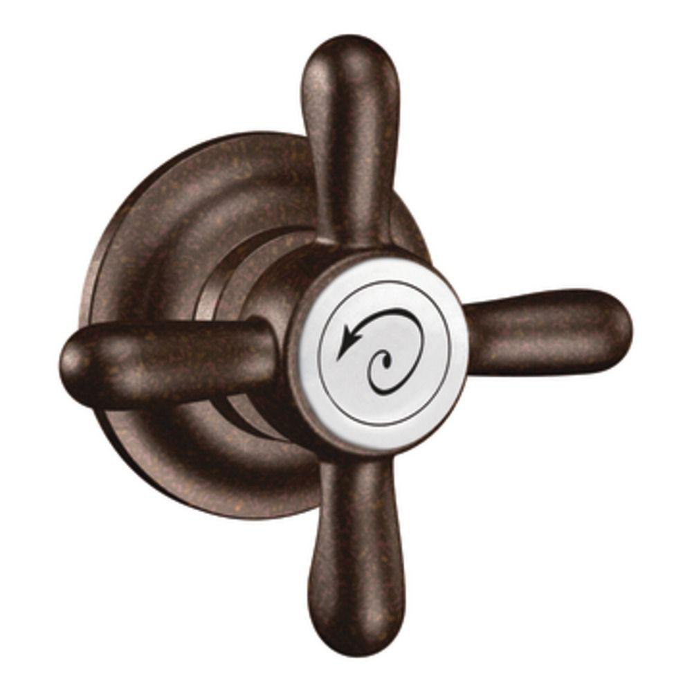 Levier de cuvette décorateur, Bronze huilé, Weymouth