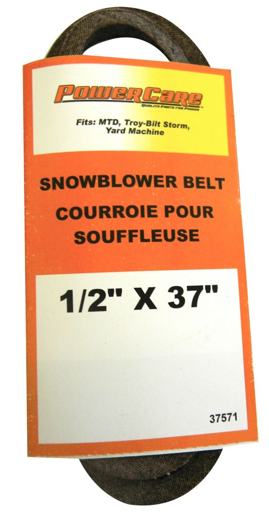 Snowblower Belt - Fits MTD, Troy Bilt Storm and Yard Machines