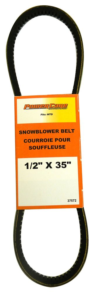 Snowblower Belt - Fits Two Stage Snowthrowers, 2005 and Newer