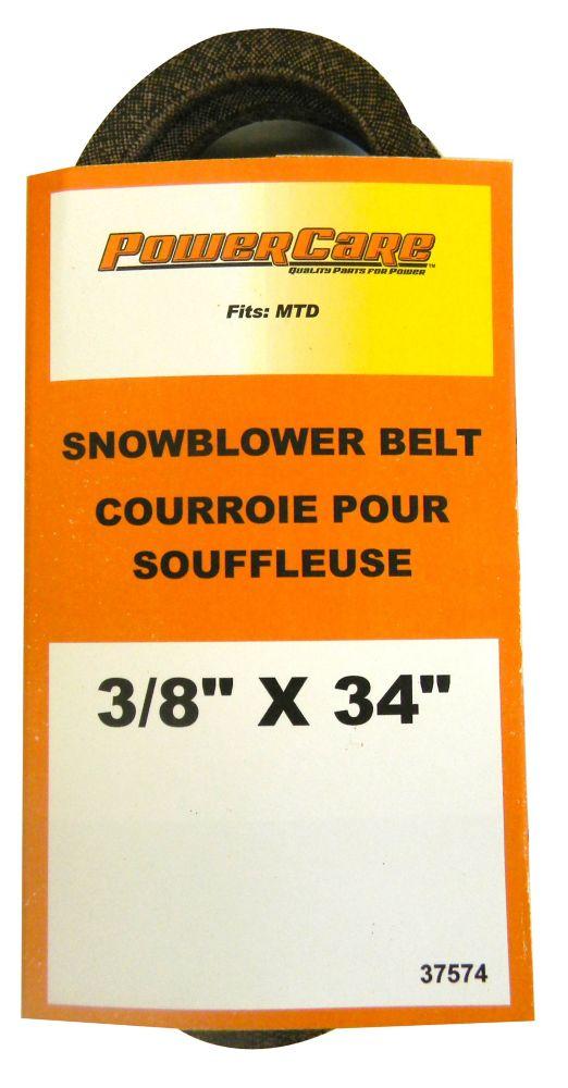 Snowblower Belt Wheel Drive Belt for MTD