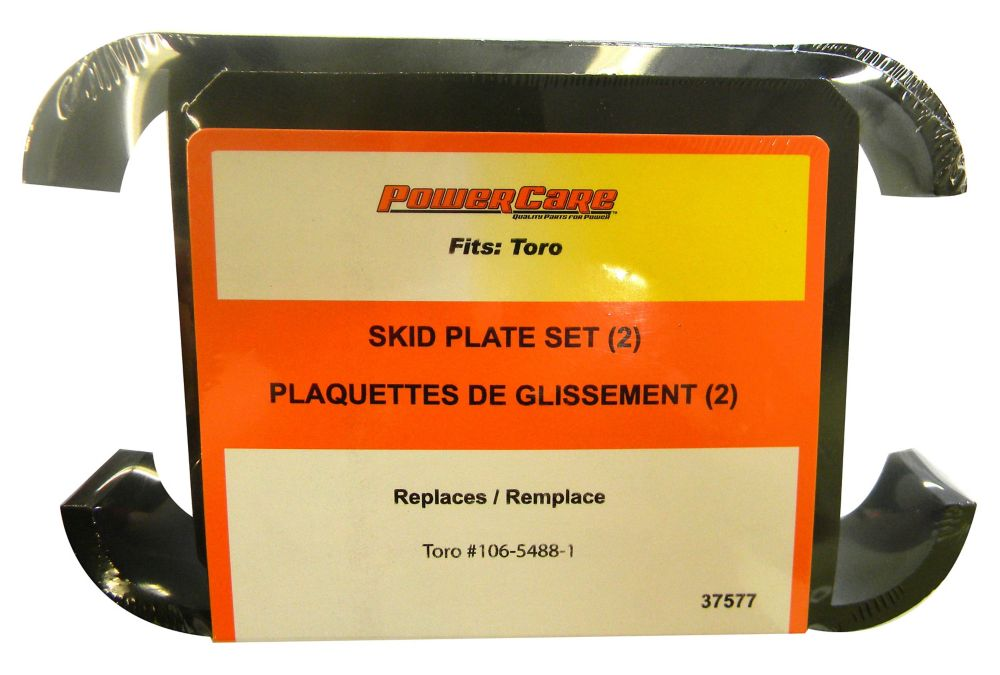Skid Plates - Fit Power Max 6000: 726, 826, 828, 1028 OXE, LE, OE, LXE