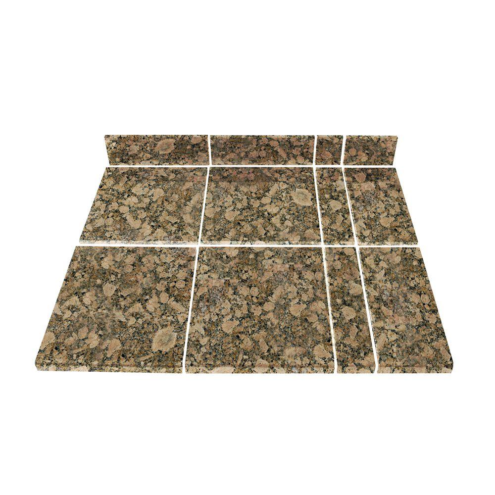 Giallo Fiorito Modular Kitchen Tile Kit A