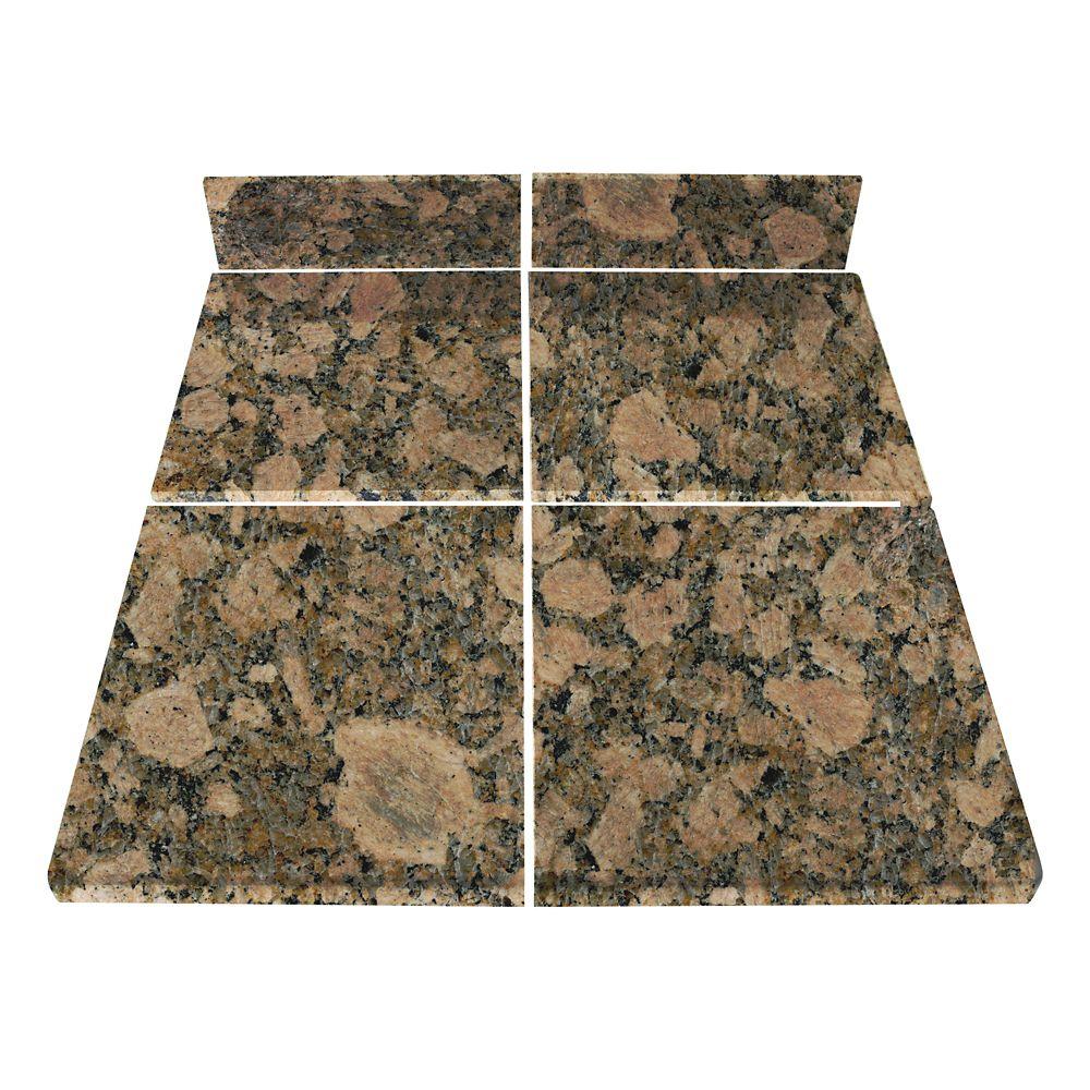 Giallo Fiorito Modular Kitchen Tile Kit B