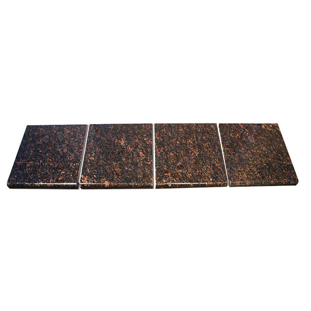Tan Brown Modular Kitchen Tile Kit C