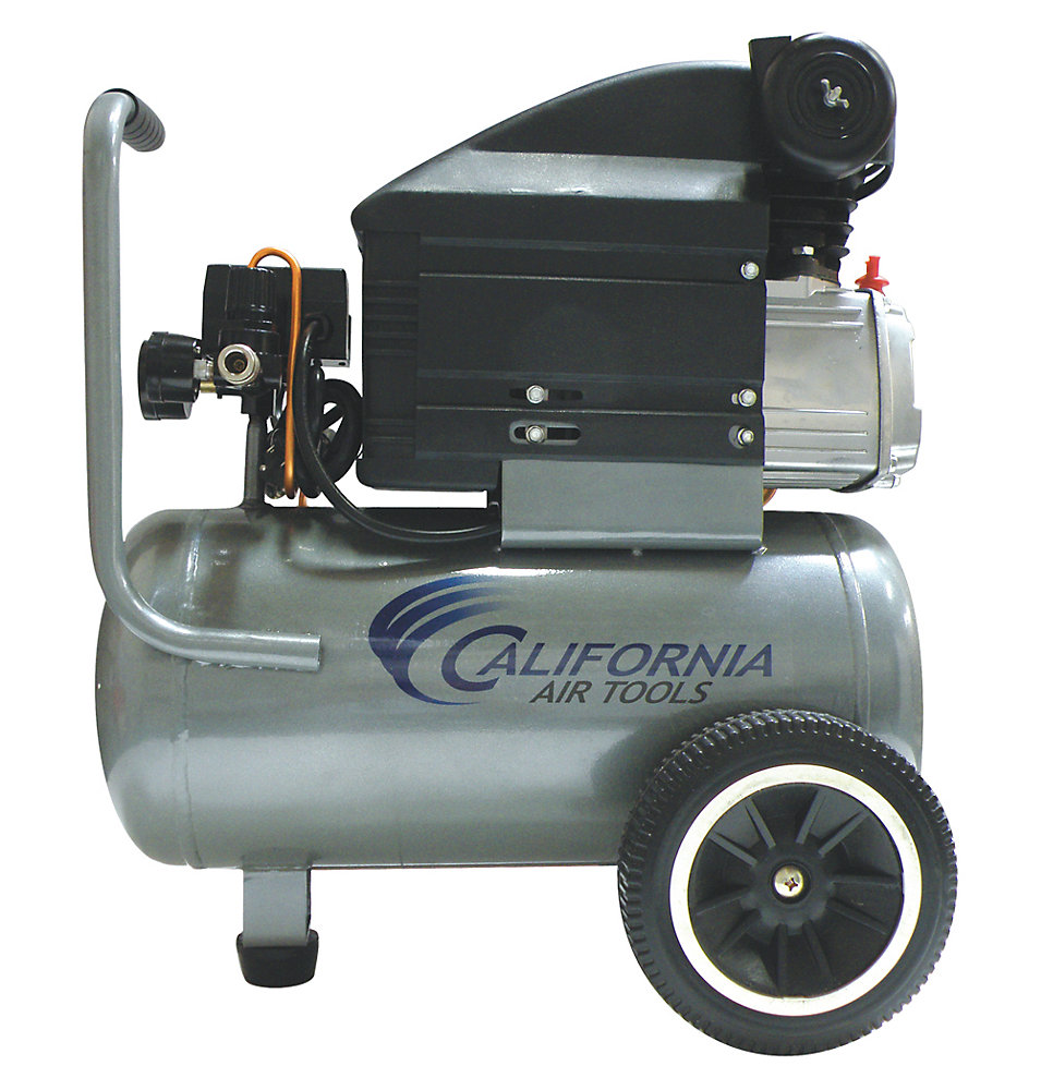 263DLH 2.0 HP 6.3 Gal. Oil-Lubricated Steel Tank Air Compressor