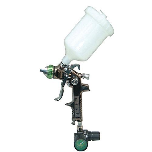 SP-324 HVLP Gravity feed Spray Gun with Air Regulator