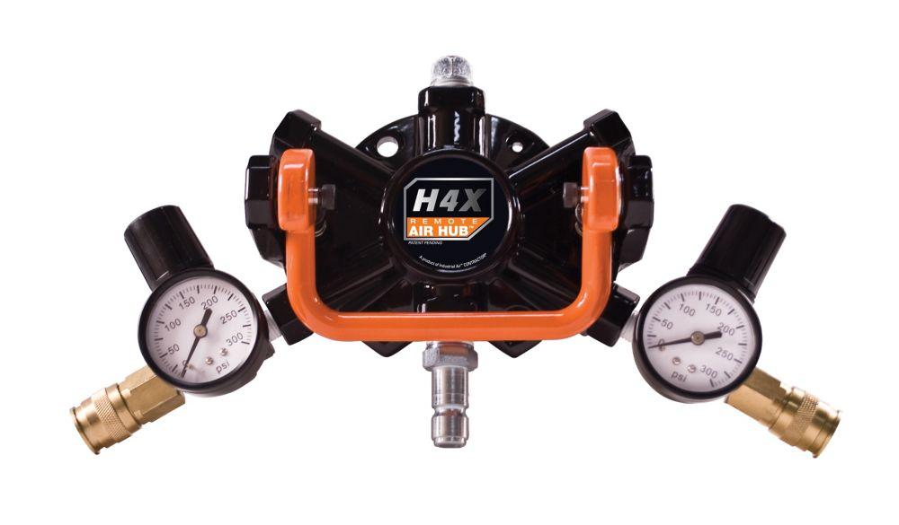 Distributeur dair à distance «H4X Air Hub»