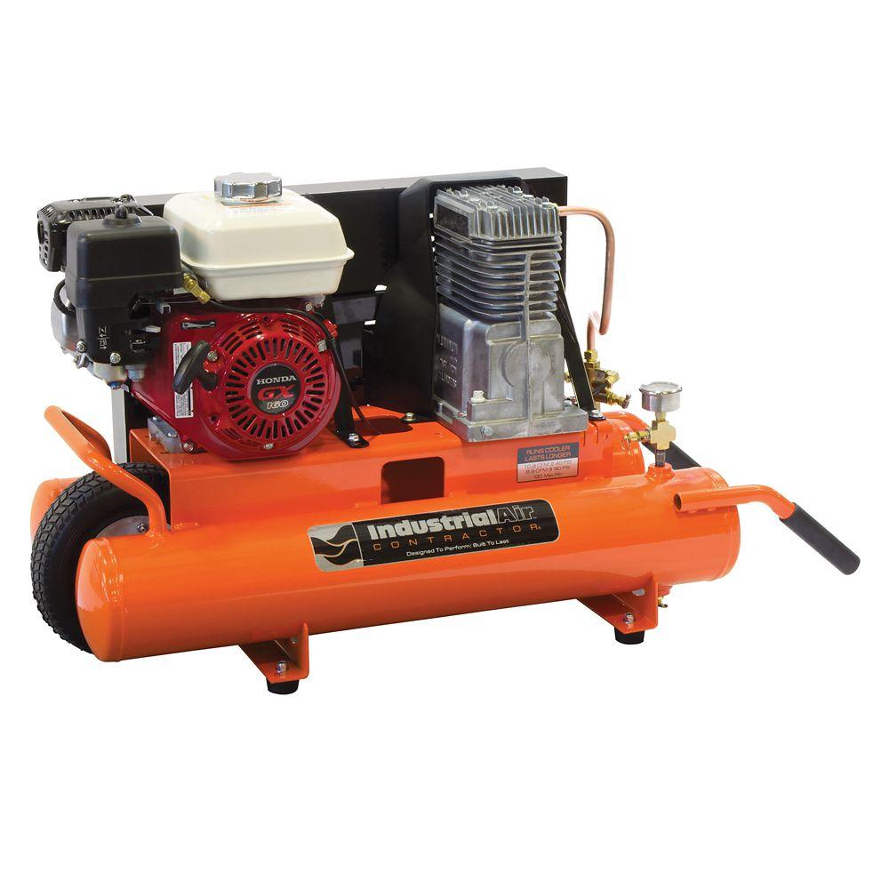 8 Gallon Portable Gas-Powered Air Compressor
