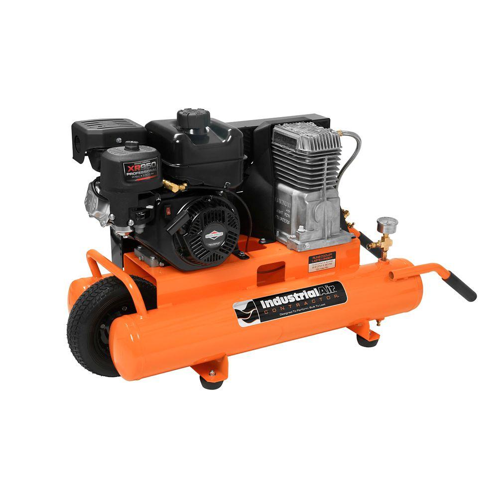 8 Gallon 130-PSI Portable Gas-Powered Air Compressor