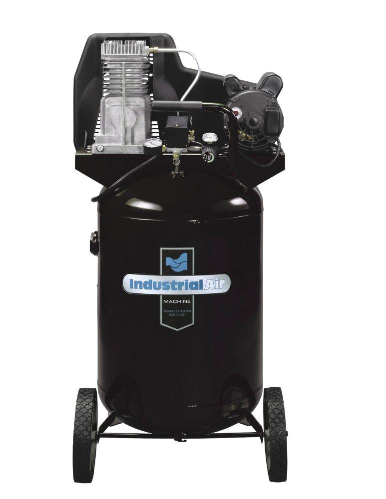 Industrial Air 27 Gallon Electric Portable Air Compressor