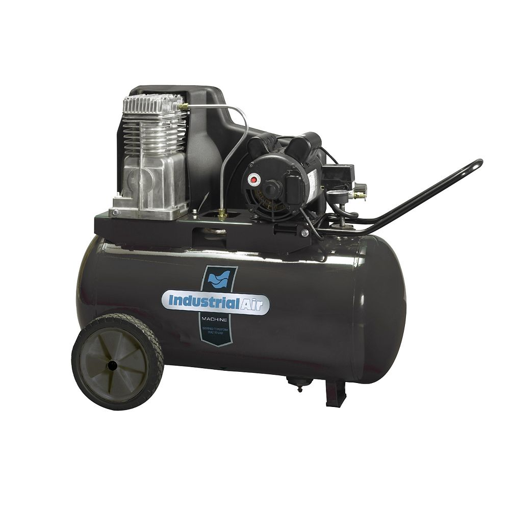 Industrial Air 20 Gallon Portable Electric Air Compressor, 130 psi