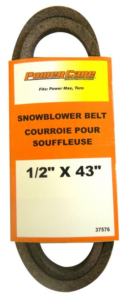 Courroie pour souffleuse, convient Power Max 6000: 726, 826, 828, 1028 OXE, LE, OE, LXE