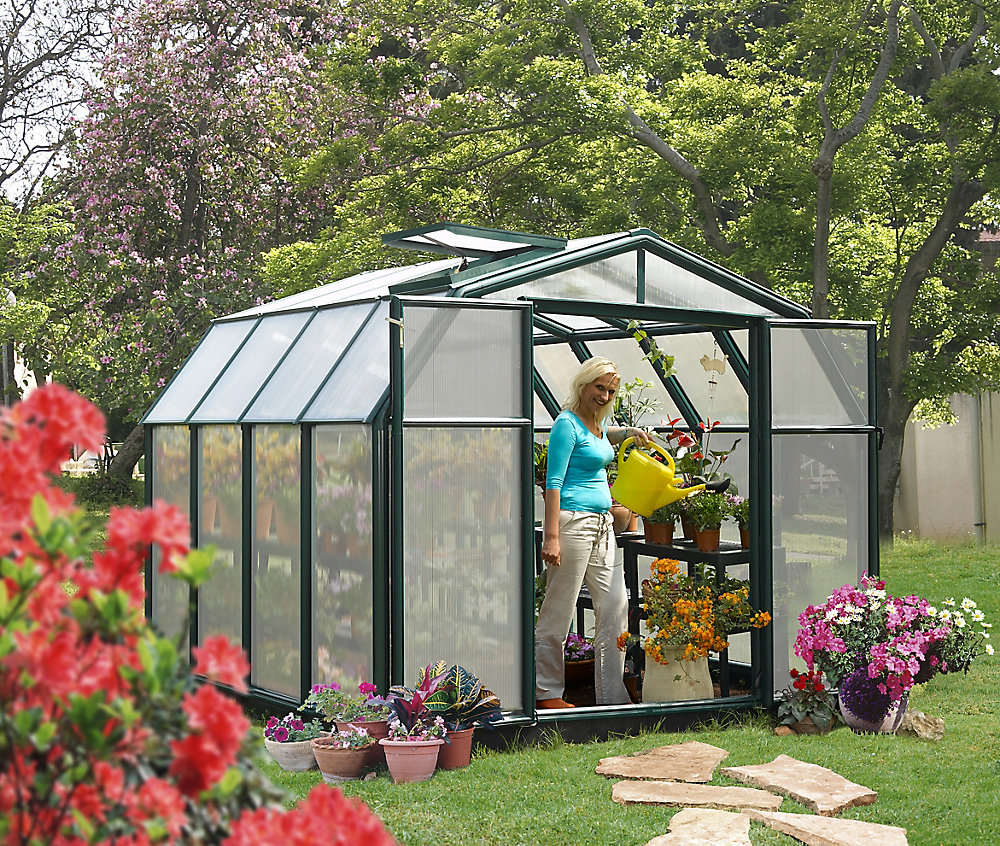 Hobby Greenhouse - 8 Feet 6 Inches X 8 Feet 6 Inches