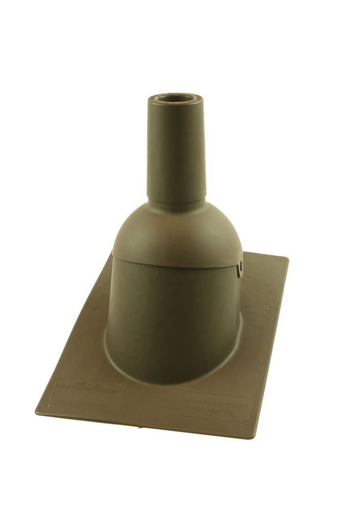 312 2 inch Brown New roof/reroof vent pipe flashing