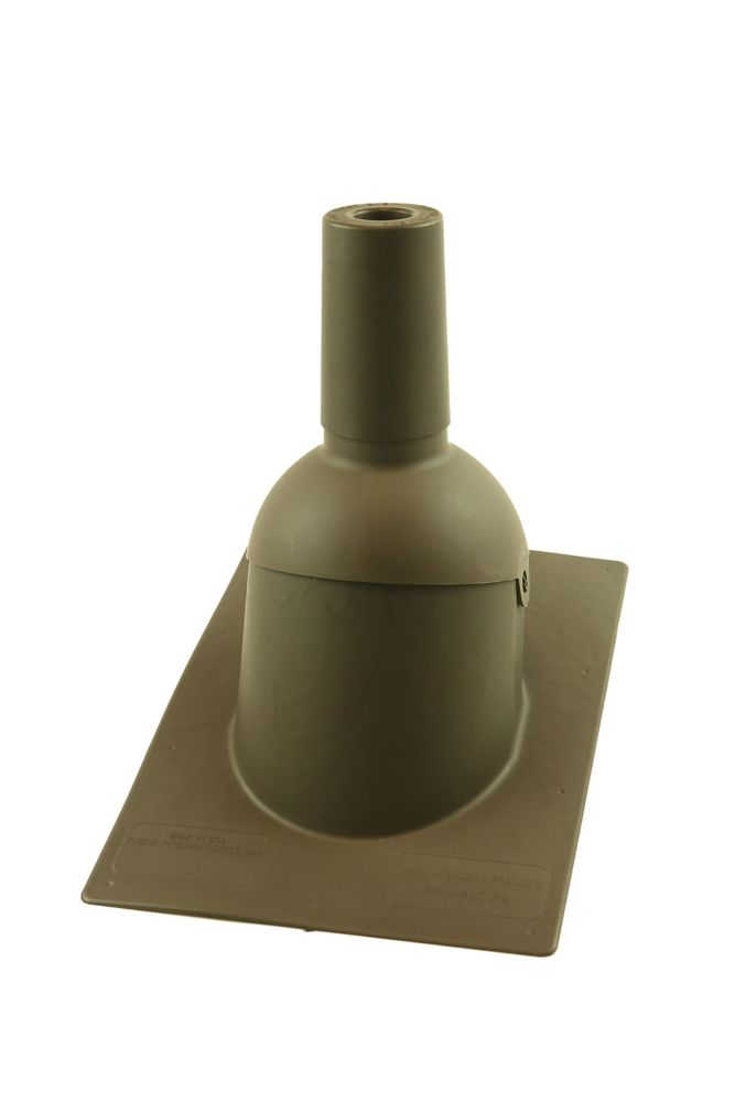 312 1.5 inch Brown New roof/reroof vent pipe flashing