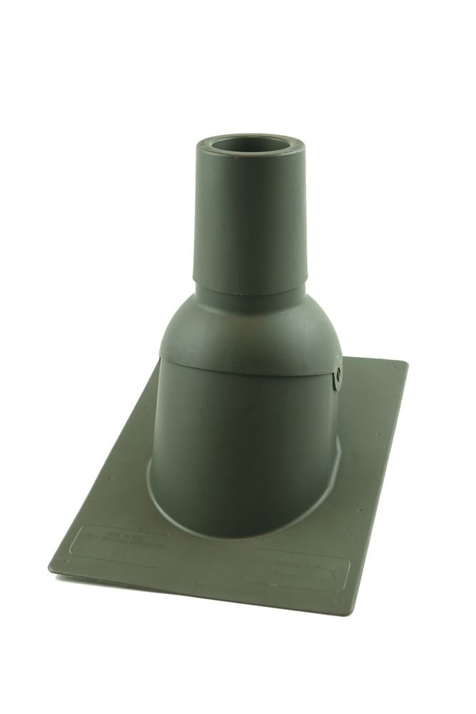 Perma-Boot 312 3 inch Weatherwood New roof/reroof vent pipe flashing