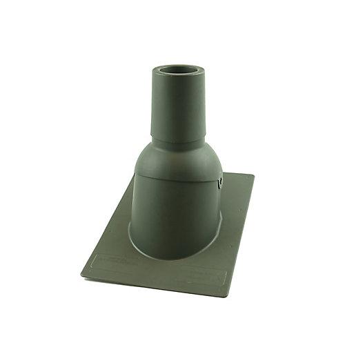 3 pouces Bois Météo nouveau solin de toit/tuyauterie d'évent de toit