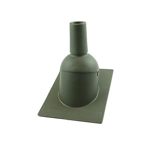 2 pouces Bois Météo nouveau solin de toit/tuyauterie d'évent pour toiture neuve
