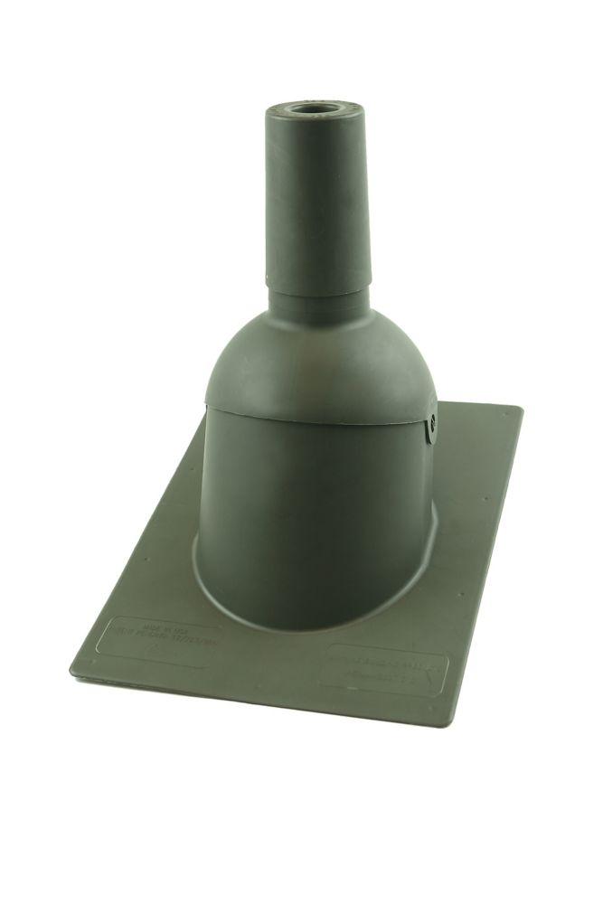 312 1,5 pouces Weatherwood Nouveau toit / tuyau de ventilation reroof clignotant