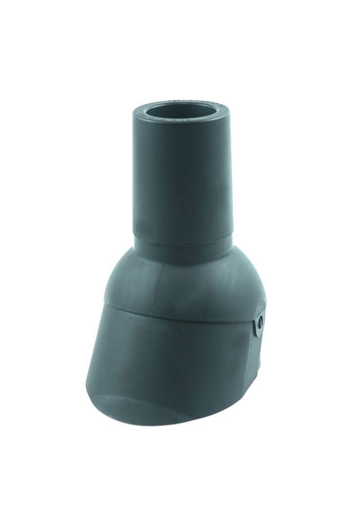 Perma-Boot 312 Gris 3 pouces Nouveau toit / tuyau de ventilation reroof clignotant