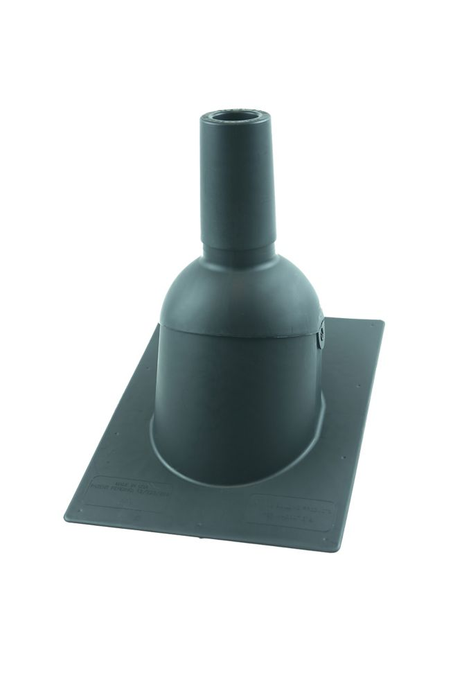 312  2 inch Grey New roof/reroof vent pipe flashing