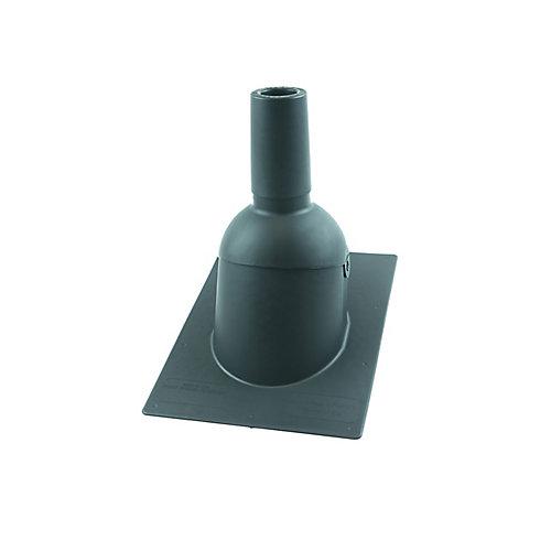 312 2 pouces Gris Nouveau toit / tuyau de ventilation reroof clignotant