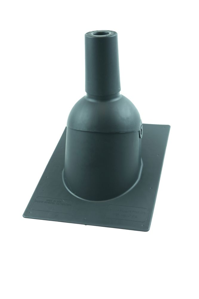 Perma-Boot 312 1.5 Grey New roof/reroof vent pipe flashing