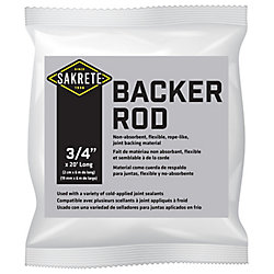 SAKRETE Backer Rod, 3/4 inch x 20 ft
