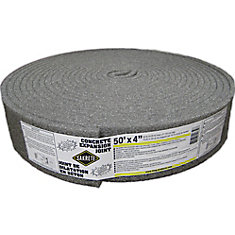 Concrete Expansion Joint, 4 inch X 50 ft.