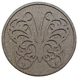 Envirotile Pas japonais décoratif SABLE 18 po diamètre - Emballage de 2