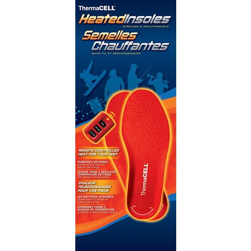 ThermaCELL Heated Insoles - Size XXL