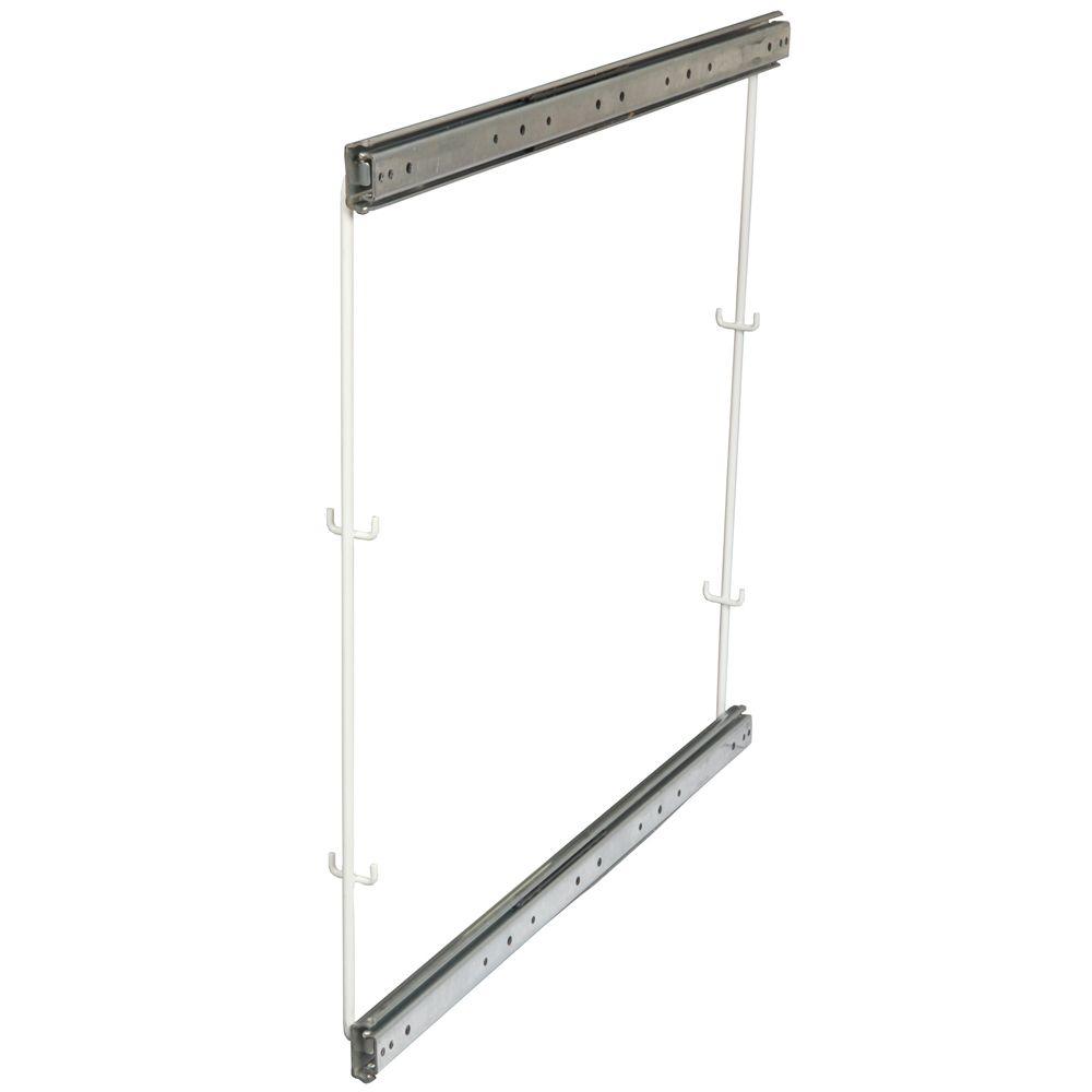Rangement pour armoire de plancher avec 2 positions pour paniers