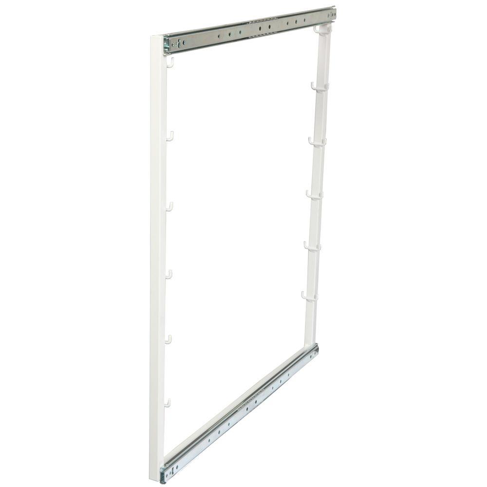 Rangement pour armoire de plancher avec 6 positions pour paniers