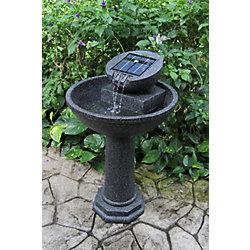 Greenway Rosella 36.4-inch Solar Fountain with Reaslistic Granite Finish