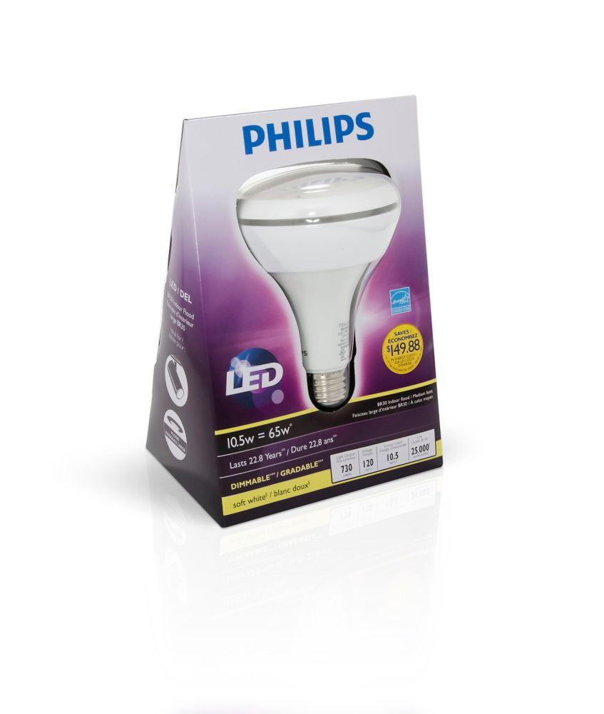 LED 10.5W BR30 Soft White