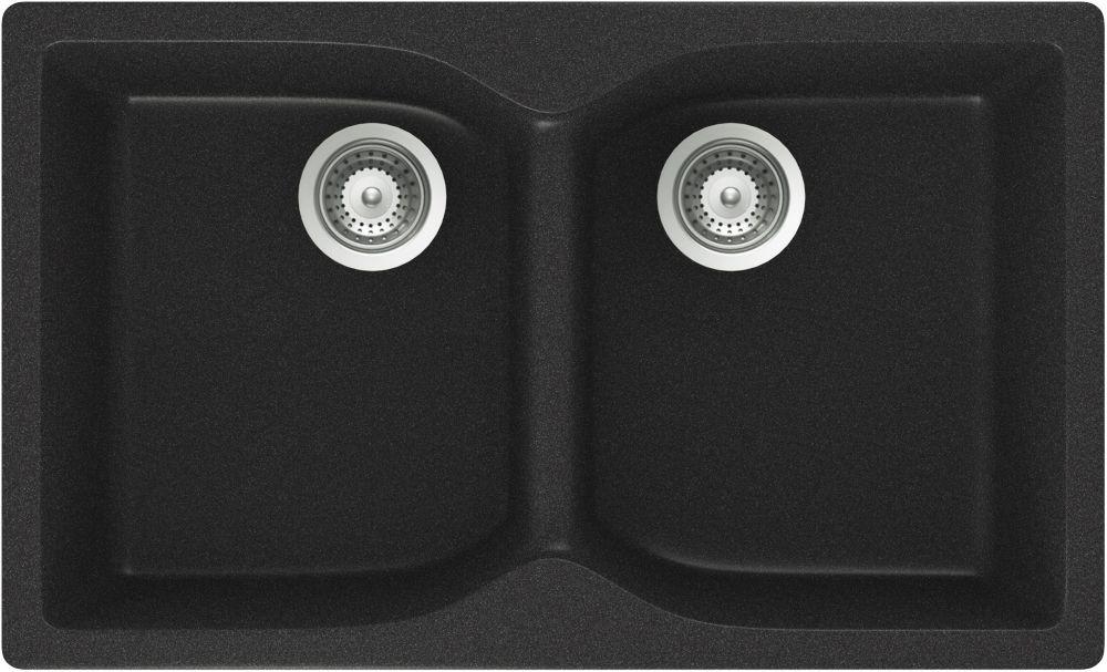 Undermount 2 Bowl Kitchen Sink CAM N 200S in Canada