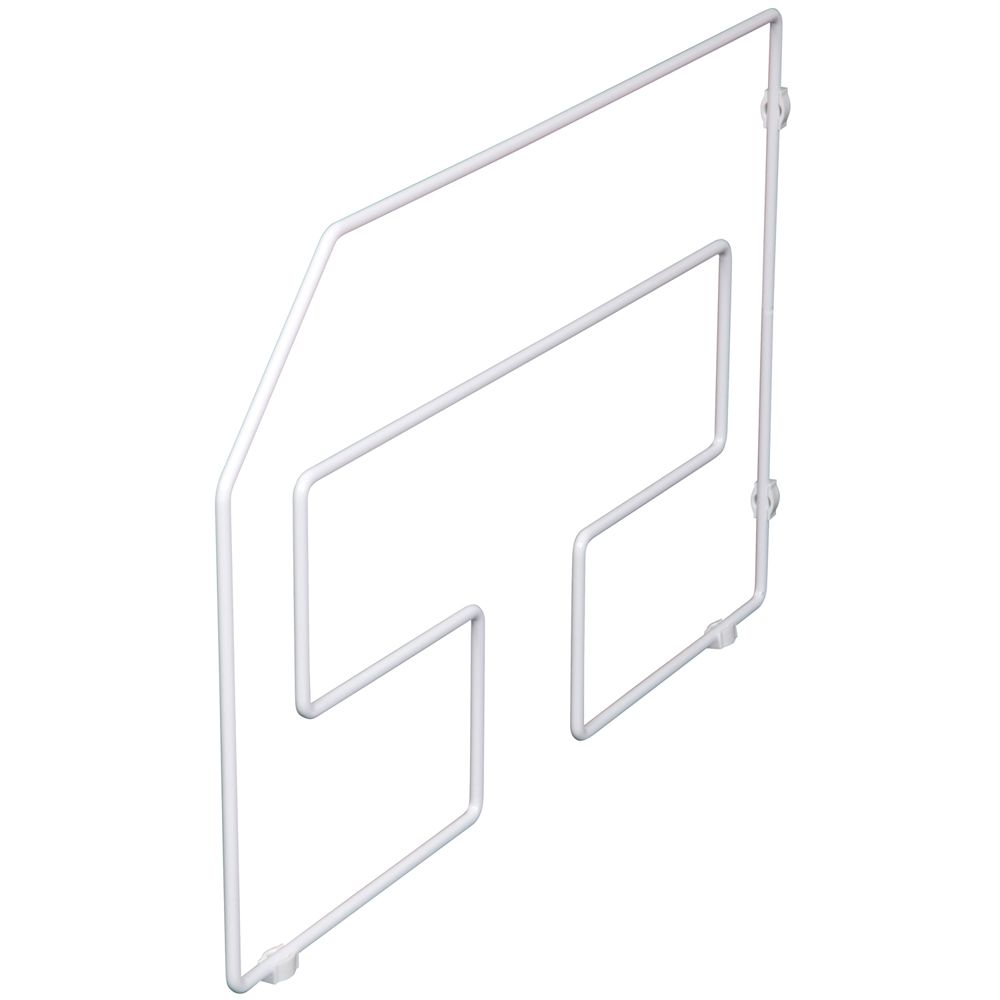 White Tray Divider Single Pack - 12 Inches Tall