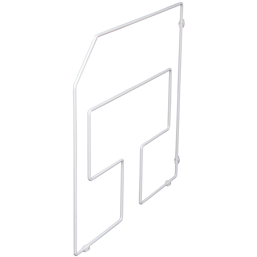 White Tray Divider Single Pack - 18 Inches Tall TD18-1-W Canada Discount