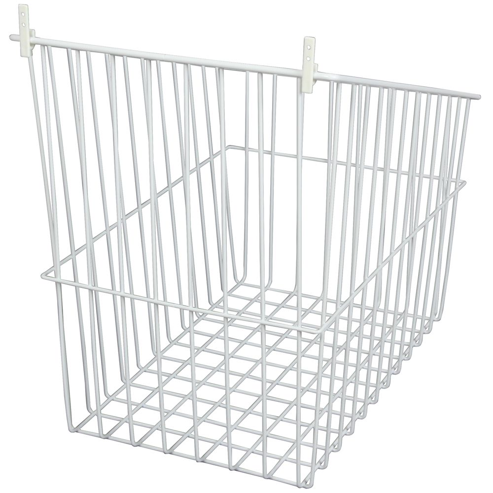 Tip-Out Wire Hamper Single Pack- 13.5 Inches Wide