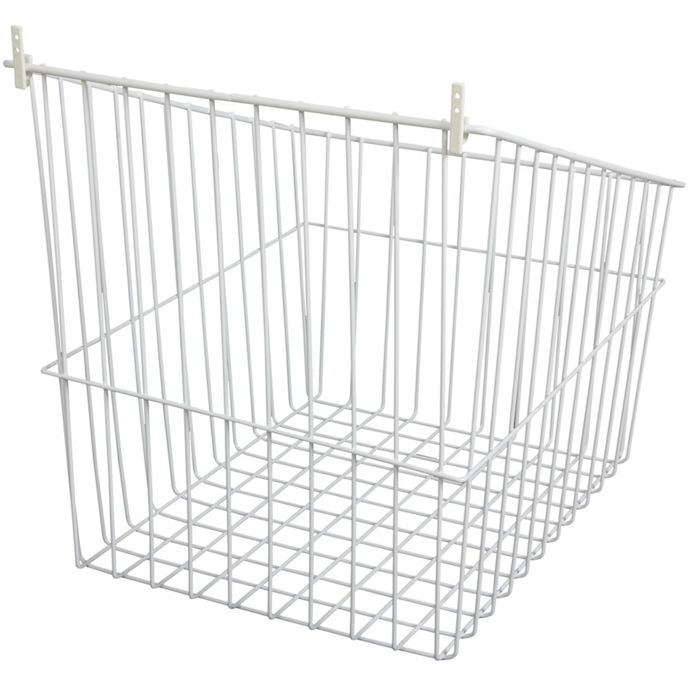Tip-Out Wire Hamper Single Pack- 16.5 Inches Wide TO1716-1-W in Canada
