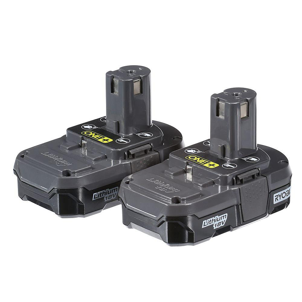 18V ONE+ Lithium-Ion 1.3Ah Compact Battery (2-Pack)