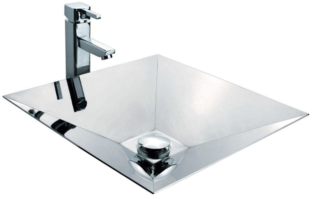 Mirror Polished Pyramid-Shaped Basin BS002 in Canada