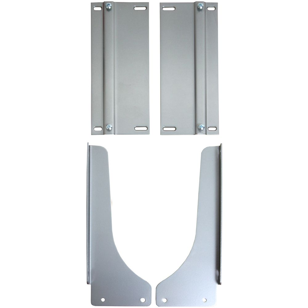 Frosted Nickel Waste Bin Door-Mount Kit