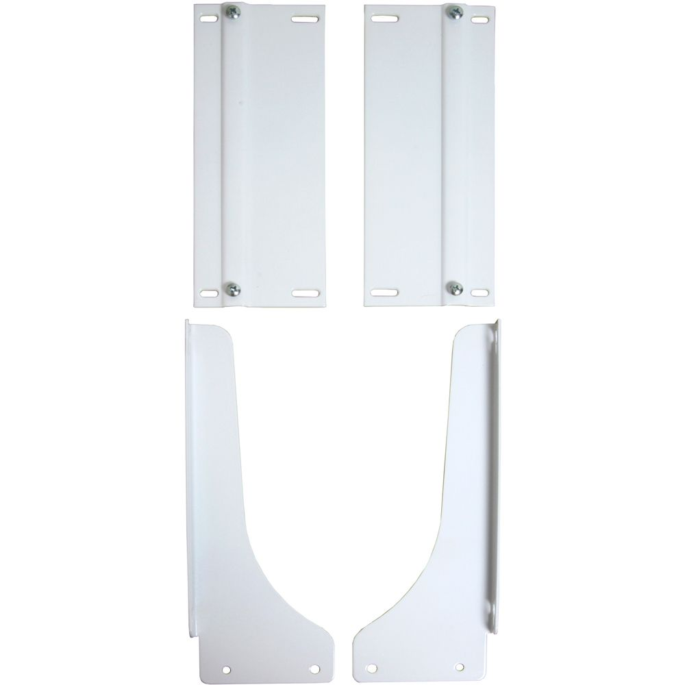 White Waste Bin Door-Mount Kit