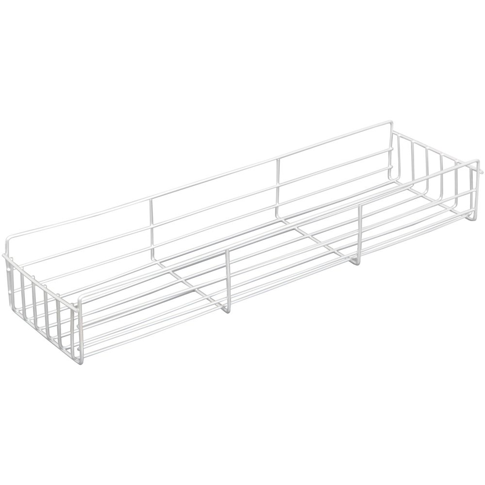 White Side-Mount Pantry Basket - 4 Inches Wide