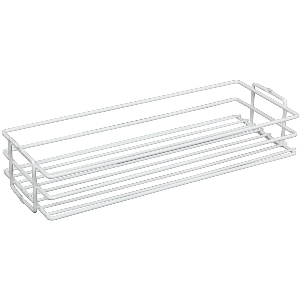 White Center-Mount Pantry Basket - 8 Inches Wide