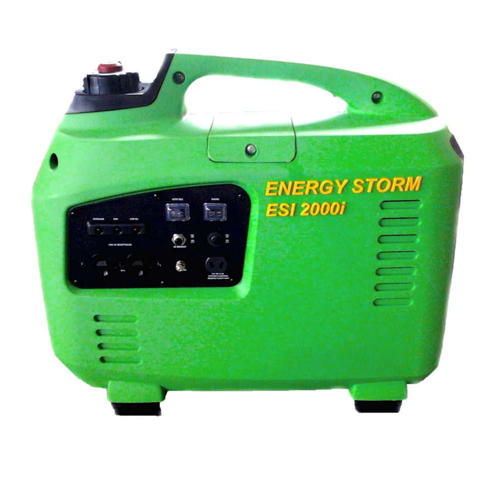 2000 Peak Watt Inverter Generator with Idle control and power on demand feature